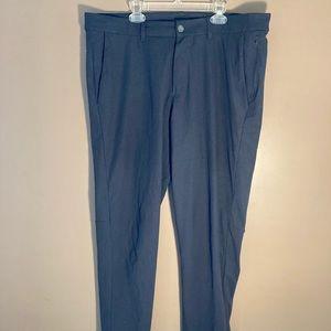 Lululemon athletica charcoal grey tech pants